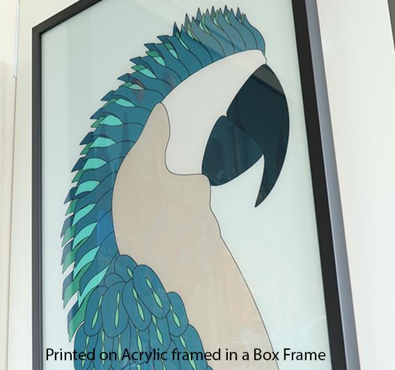 Acrylic frmaed box_1