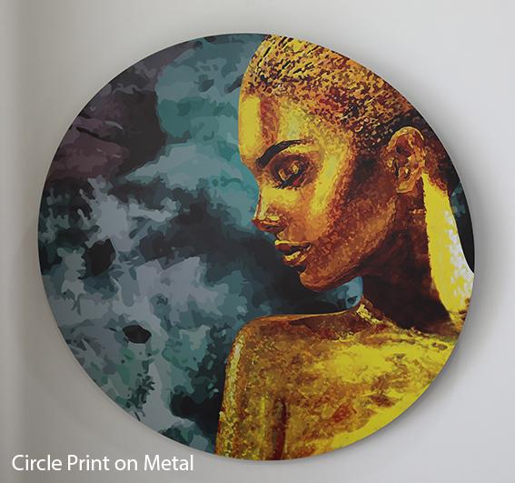Circle Print On Metal_1