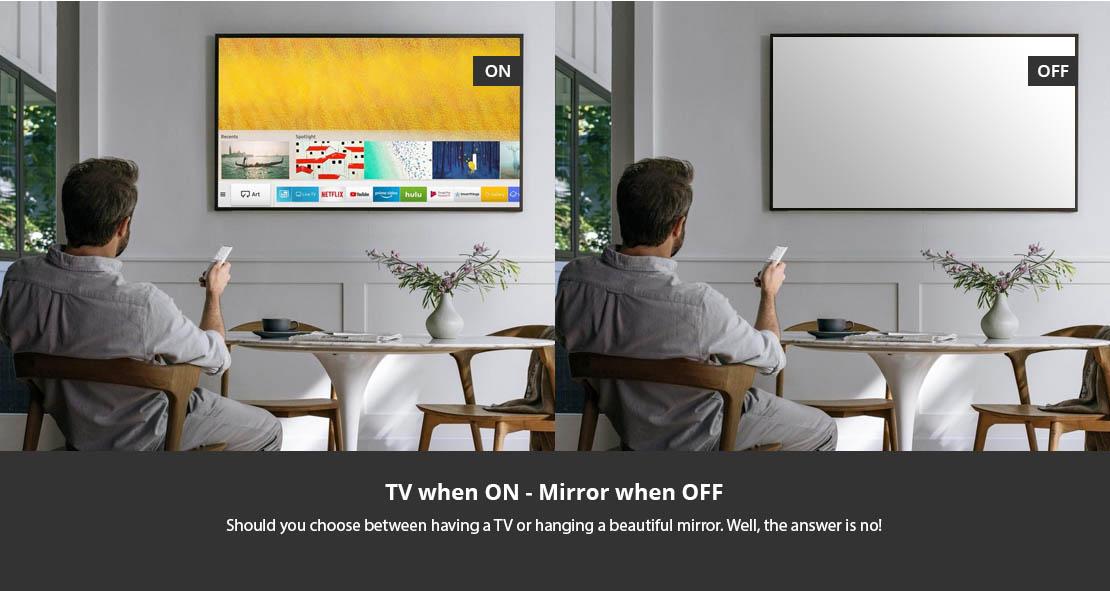 TV Mirror custom made in Australia
