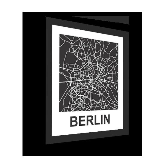 11_Acrylic Black_3D Maps Template_Berlin Framed