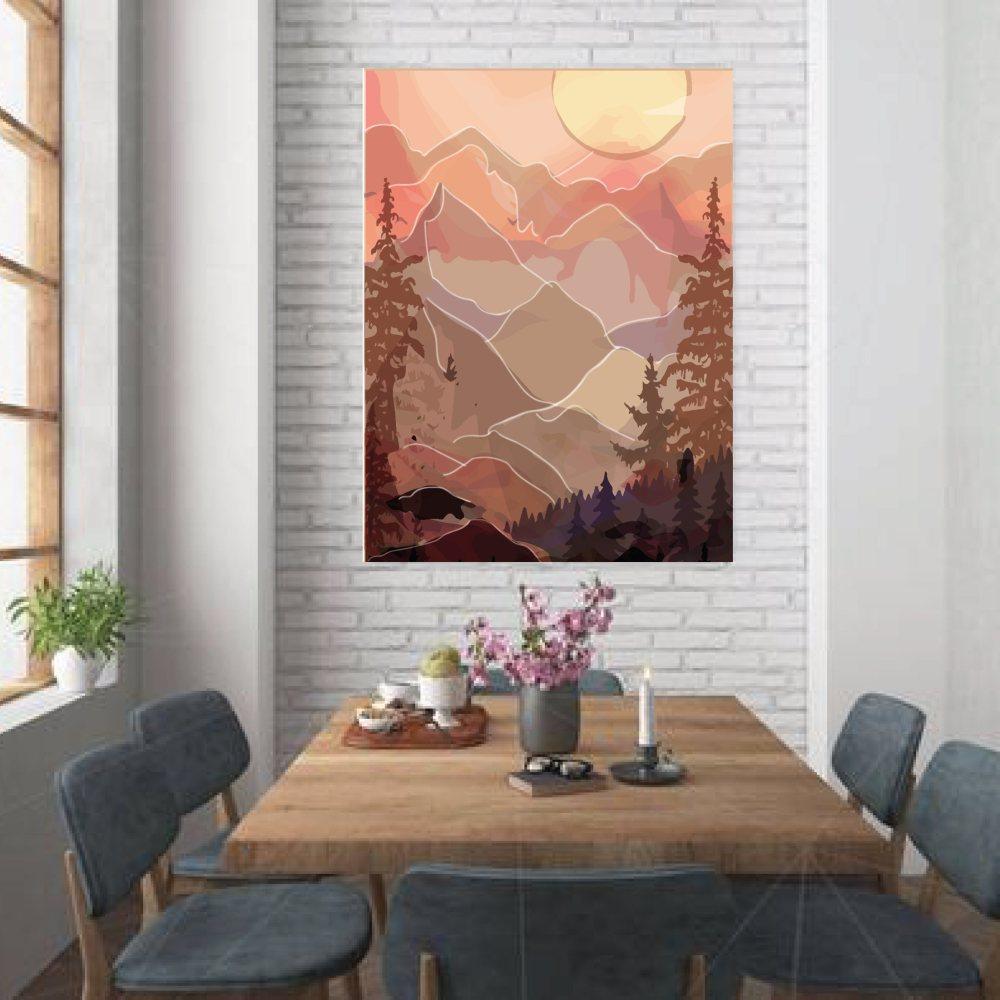 oversized wall art