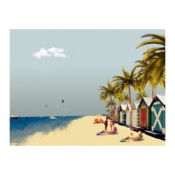 Corporate Artwork for Tourism Industry