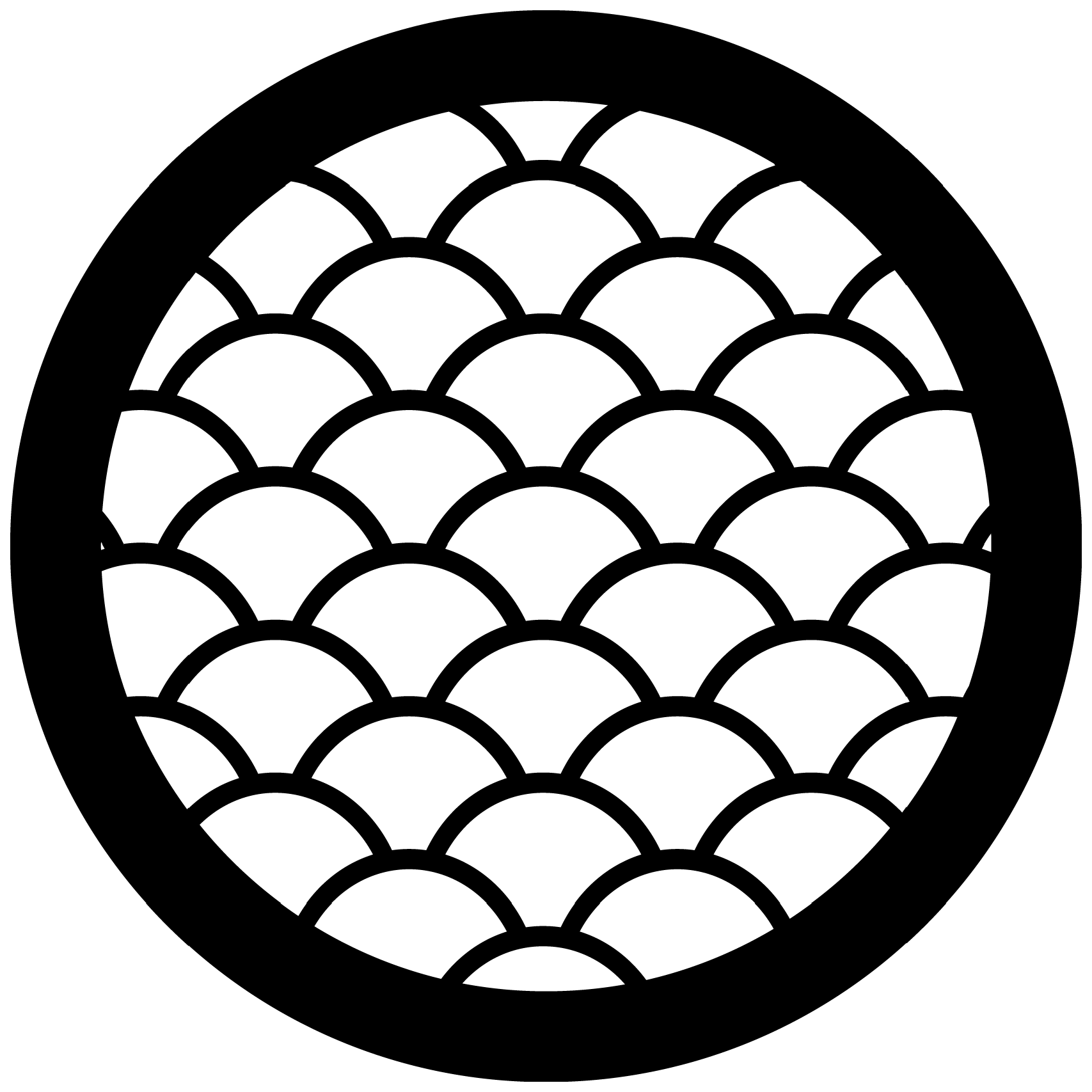 Decorative Panel – Circle J.1