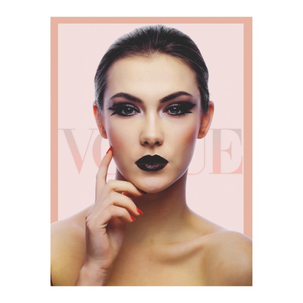Vogue Pink - Corporate artwork for fashion industry