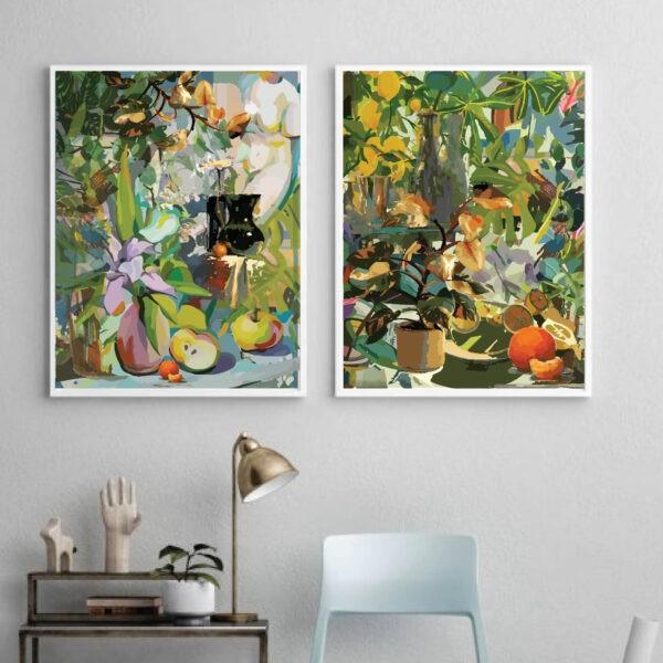abstract art wall prints