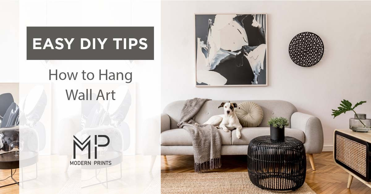 how to hang a wall art