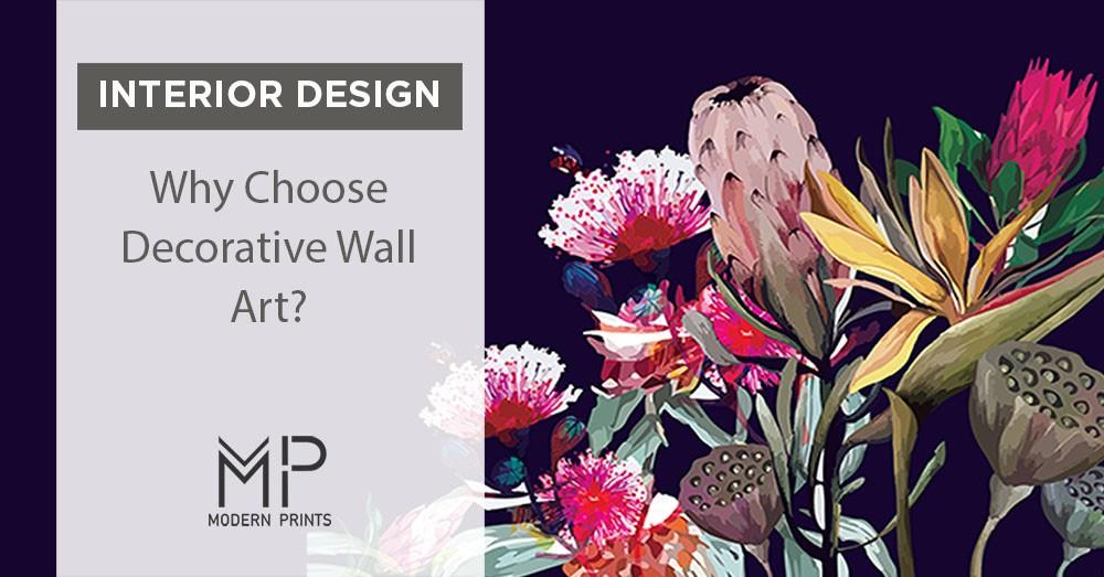 why choose decorative wall art